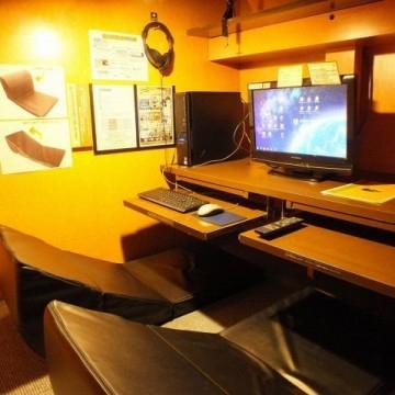 漫画喫茶やネットカフェ